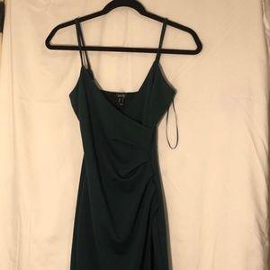 Green Sculpting Dress